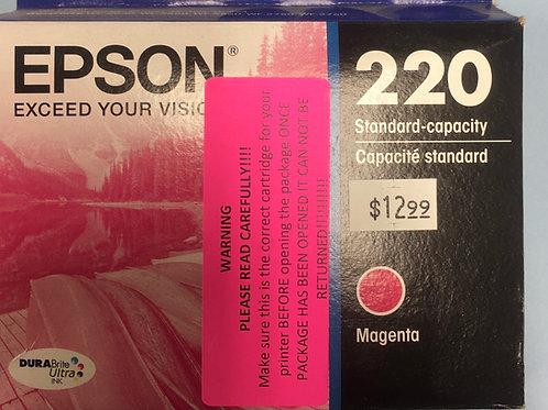 Epson 220 standard magenta ink