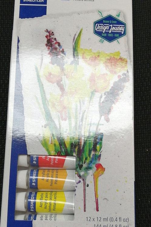 Acrylic paints 12