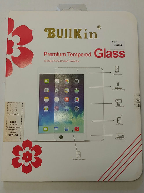 IPad A1416 3rd Generation Tempered Glass Screen Protector