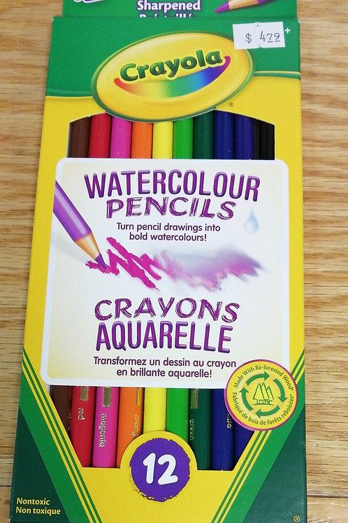 Crayola water color pencils