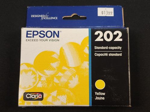 Epson 202 Yellow Ink