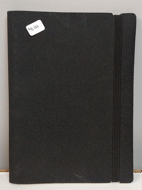 Material Cover Lined Notebook