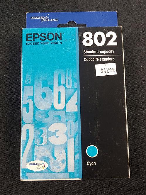 Epson 802 Cyan Ink