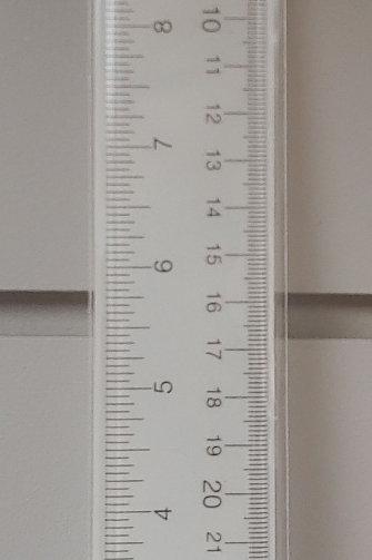 Westcott Acrylic Office Ruler