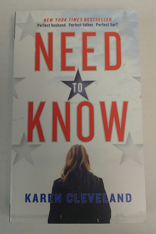 Need to Know- Karen Cleveland
