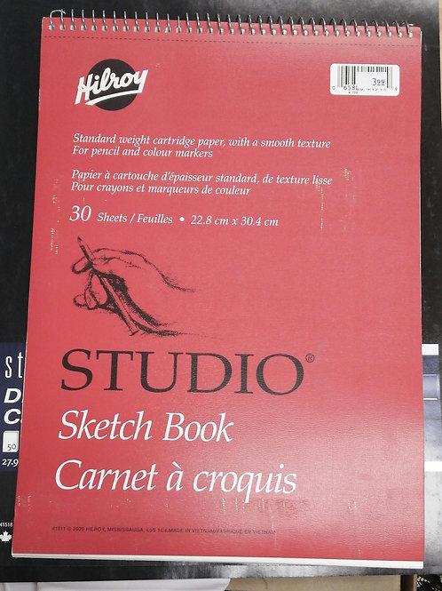 Studio Sketch Book