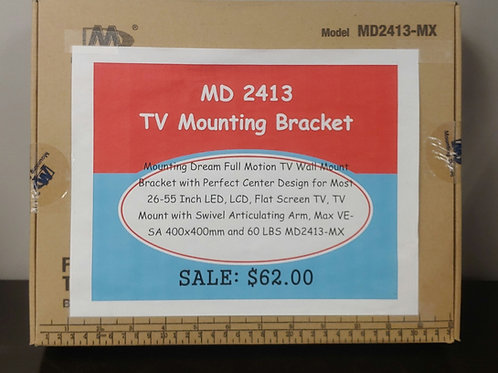 "MD 2413 TV Mounting Bracket 26""-55"" Swivel Articulating Arm"