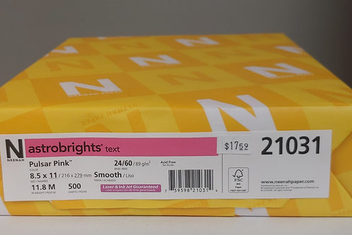 Neenah Astrobrights 500 Coloured Sheets
