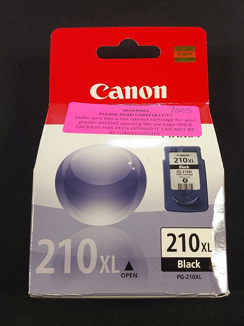 Canon Pixma 210xl Black Ink