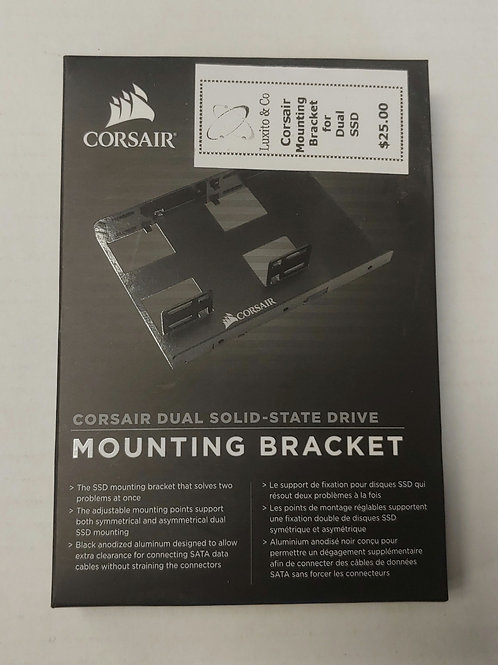 Corsair Dual Solid-State Drive Mounting Bracket