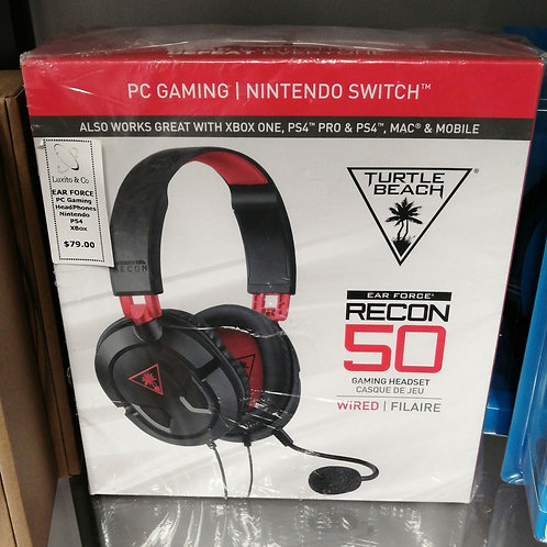 Recon wired gaming headset