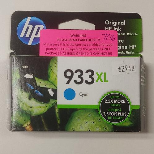 HP 933xl Cyan Ink
