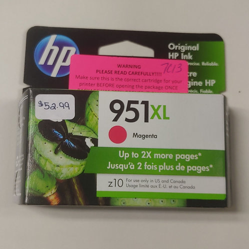 HP 951xl Magenta Ink