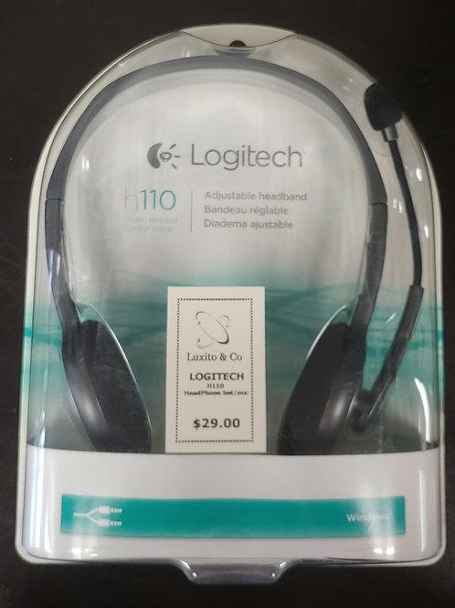 Logitech H110 Headphone Set and Mic