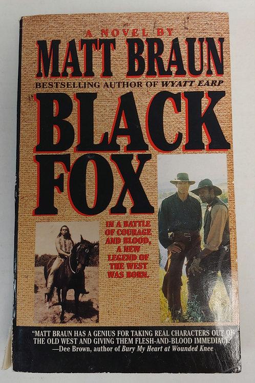 Black Fox- Matt Braun