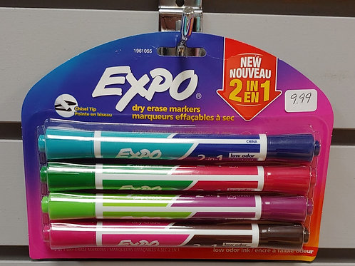 Expo Dry Erase 2 in 1 Markets