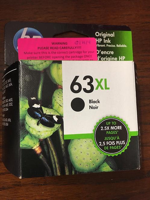 HP 63XL Black Ink