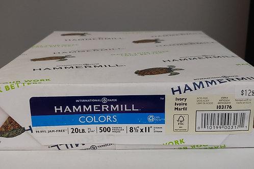 "Hammermill 500 Sheets 8½"" x 11"""