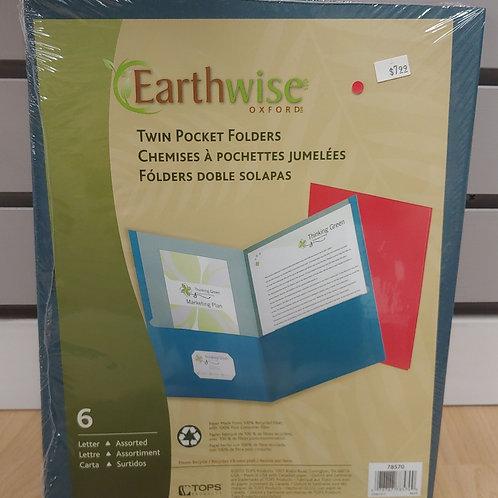Earthwise 6 Twin Pocket Folders