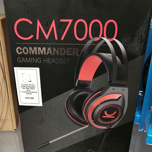 Commander gaming headset