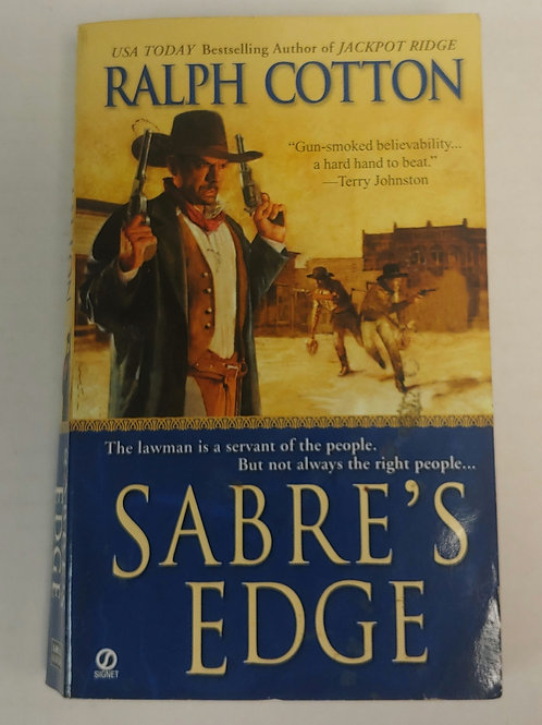 Sabre's Edge- Ralph Cotton