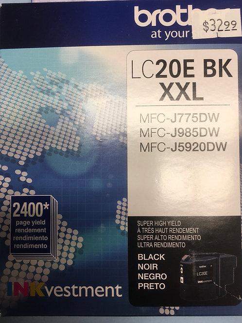 Brother LC20E BK XXL