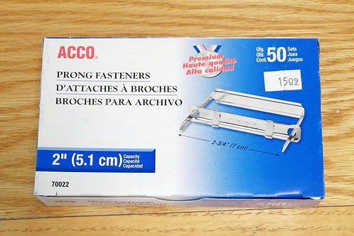 ACCO prong fasteners