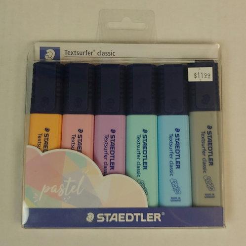 Staedtler Textsurfer Classic Pastel Highlighter