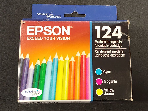 Epson 124 Tri-Color Ink