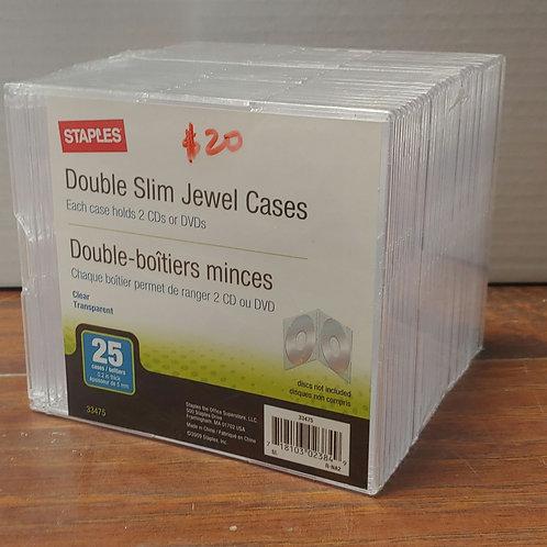 Double Slim Jewel Case
