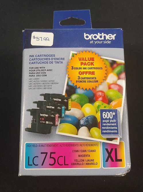 Brother LC75CL XL Ink
