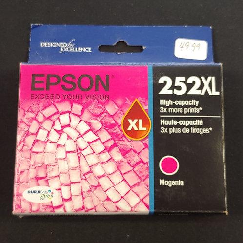 Epson 252xl Magenta Ink