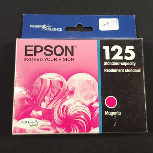 Epson 125 Magenta Ink