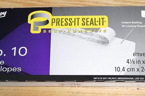 No.10 White envelopes