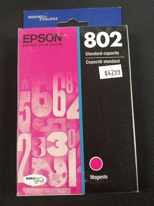 Epson 802 Magenta Ink
