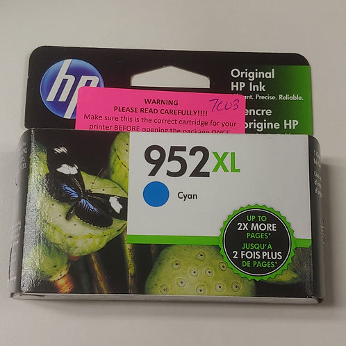 HP 952xl Cyan Ink