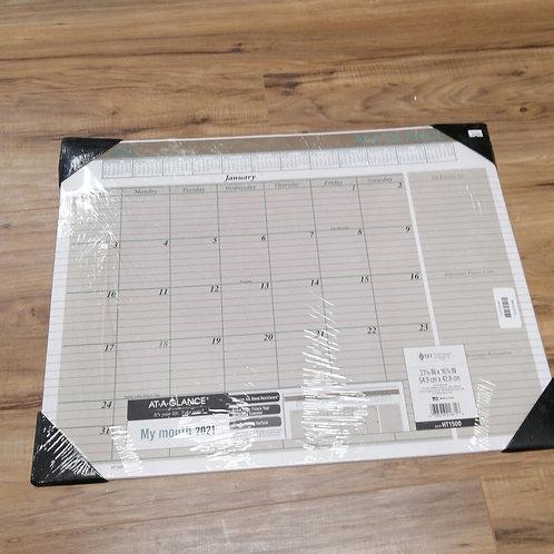 Large 2021 wall calendar