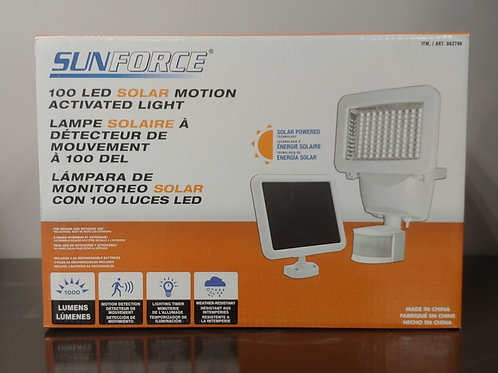 Sunforce 100 LED Solar Motion Activated Light