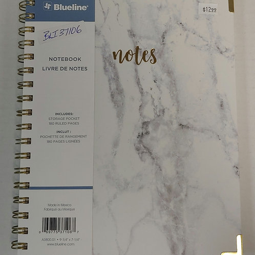Blueline 180 Ruled Pages Notebook