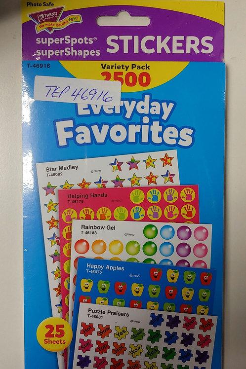 Supershot Stickers Variety Pack