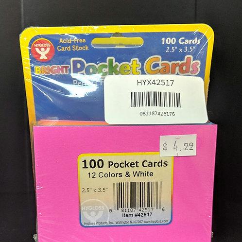 Bright Pocket Cards