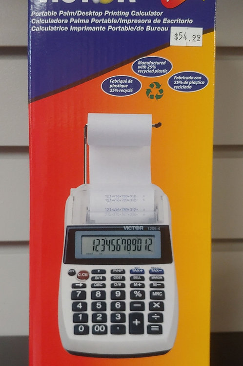 Victor Portable Desktop Printing Calculator