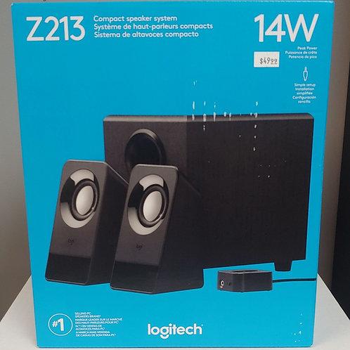 Logitech Z213 Compact Speaker System 14W