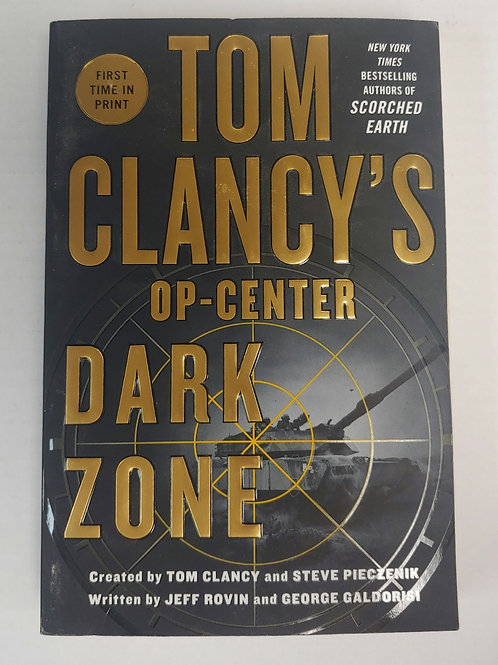 Op-Center Dark Zone- Tom Clancy