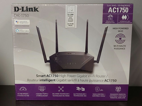 D-Link DIR-1750 Wireless Dual Router AC 1750 Gigabit