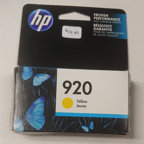 HP 920 Yellow Ink