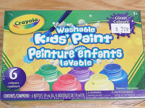 Washable glitter paint
