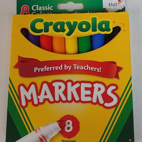Crayola Nontoxic Markers