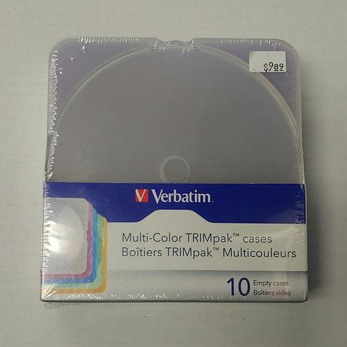 Verbatim Multicolor TRIMpak Cases