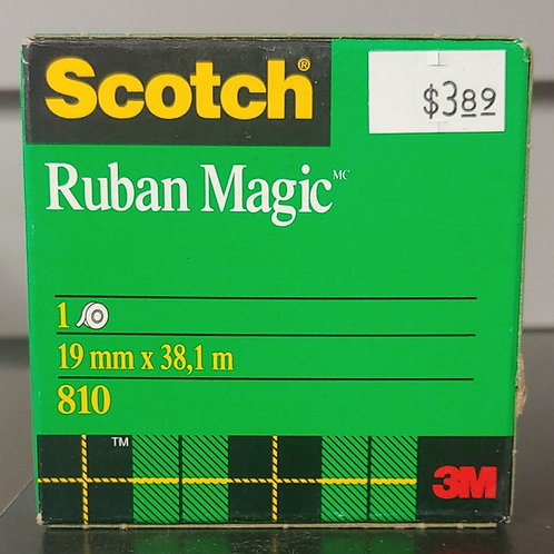 Scotch Ruban Magic 19mm x 1m